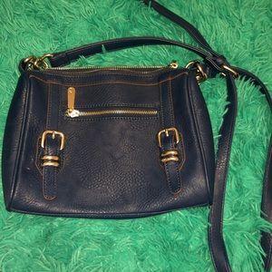 blue charming charlie bag